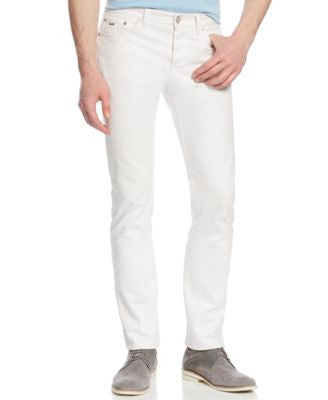 Michael Kors Men's Tailored-Fit White Jeans