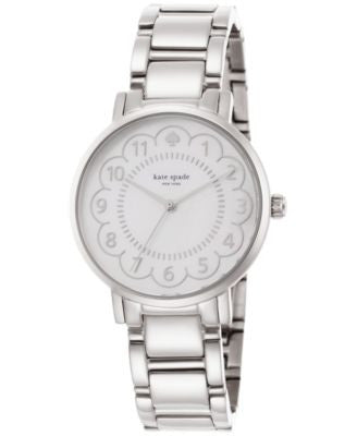 kate spade new york Women's Gramercy Stainless Steel Bracelet Watch 34mm 1YRU0792