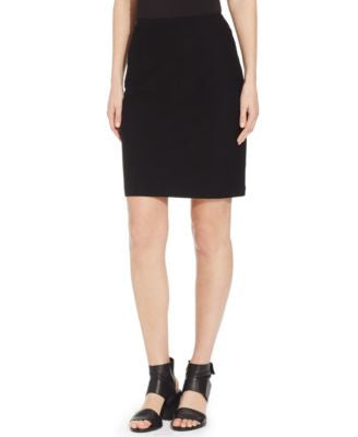 Eileen Fisher Petite Solid Pencil Skirt