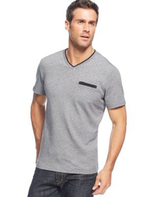 Alfani Men's Dot V-Neck T-Shirt