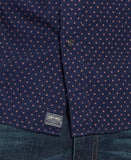 Denim & Supply Ralph Lauren Men's Star-Print Cotton Poplin Shirt