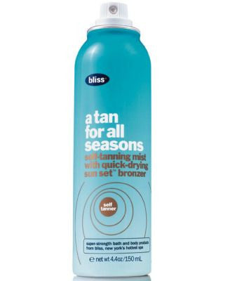 Bliss A Tan For All Seasons, 4.4 oz.