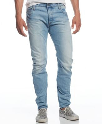 G-Star RAW Men's Arc Slim-Fit Washed-Out Jeans