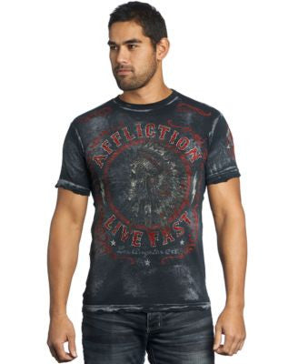 Affliction Men's Northern Lights T-Shirt