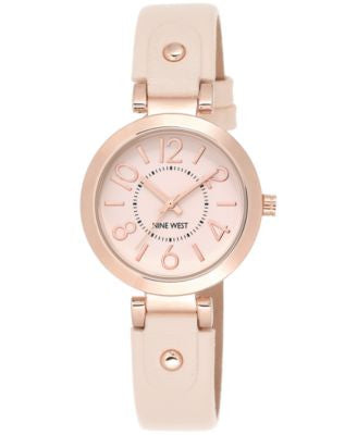 Nine West Women's Nude Strap Watch 32mm NW/1712PKRG