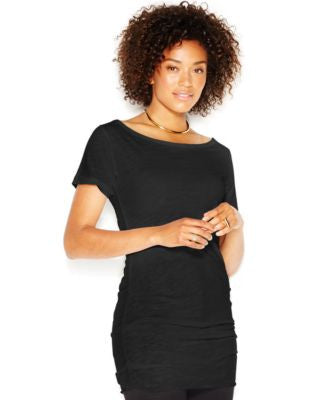 RACHEL Rachel Roy Short-Sleeve Off-The-Shoulder Tunic