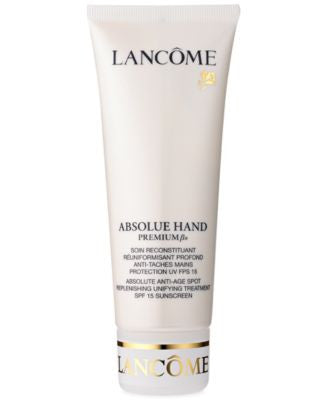 Lancôme ABSOLUE HAND Absolute Anti-Age Spot Replenishing Unifying TreatmentSPF 15 Sunscreen, 3.4 Oz