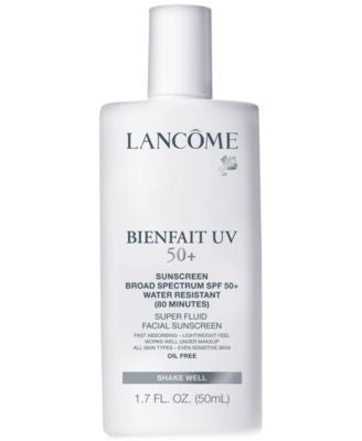Lancôme BIENFAIT UV SPF 50+ Broad Spectrum SPF 50+ Super Fluid Facial Sunscreen, 1.7 oz