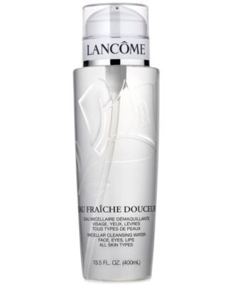 Lancôme Eau Fraîche Douceur Micellar Cleansing Water Face, Eyes, Lips, 13.5 fl oz