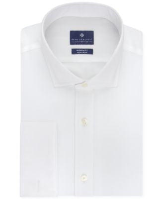 Ryan Seacrest Distinction Men's Classic-Fit Non-Iron French Cuff Dress Shirt