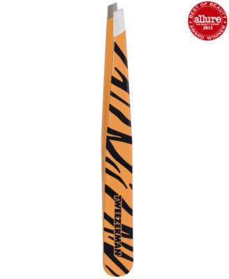 Tweezerman Animal Print Slant Tweezer - Tiger