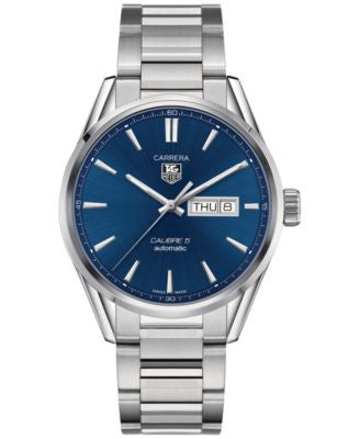 TAG Heuer Men's Swiss Automatic Carrera Stainless Steel Bracelet Watch WAR201E.BA0723