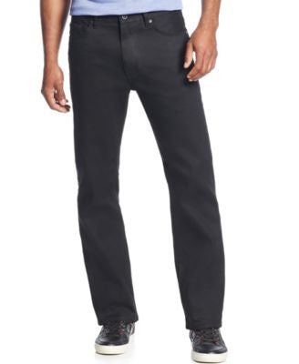 Sean John Men's Big & Tall Hamilton Relaxed Fit Jeans, Overdyed Black