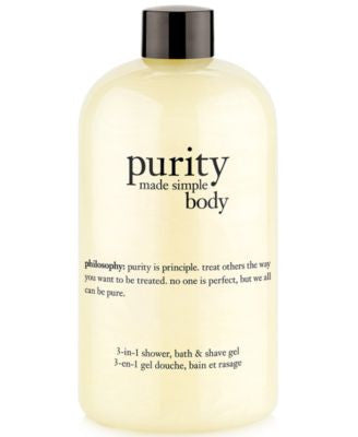 philosophy purity made simple for body, 16 oz.