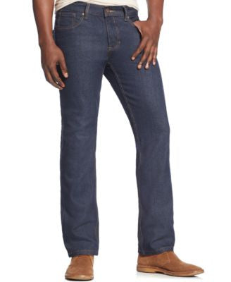 Ring of Fire Men's Classic Slim-Straight Fit Jeans, Dark Indigo