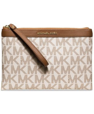 MICHAEL Michael Kors Signature Tech Zip Clutch, a Vogily Exclusive Style