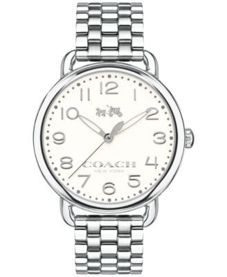 COACH WOMEN'S DELANCEY STAINLESS STEEL BRACELET WATCH 36MM 14502260