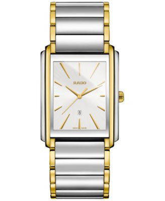 Rado Men's Swiss Integral Gold-Tone PVD and Stainless Steel Bracelet Watch 31mm R20996103
