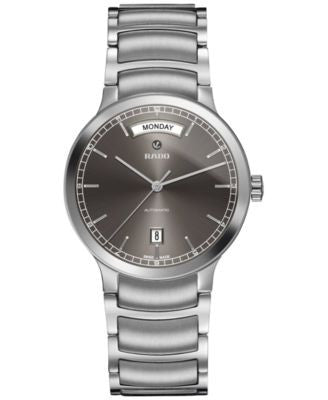 Rado Men's Swiss Automatic Centrix Stainless Steel Bracelet Watch 38mm R30156103