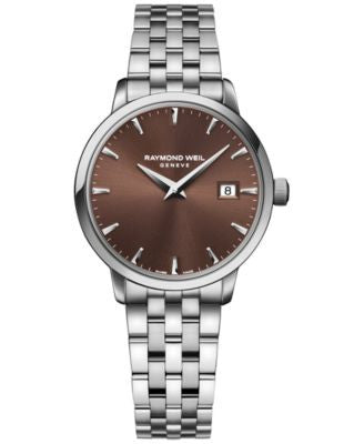 RAYMOND WEIL Women's Swiss Toccata Stainless Steel Bracelet Watch 29mm 5988-ST-70001