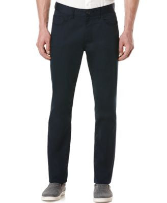 Perry Ellis Slim-Fit Solid Sateen Pants