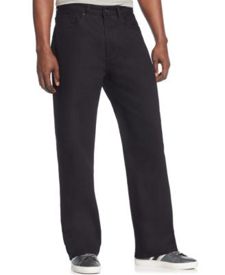 Sean John Men's Original-Fit Garvey Jeans, Overdyed Black