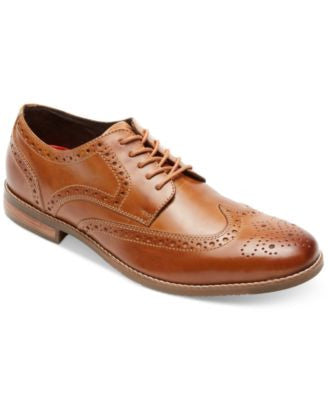 Rockport Style Purpose Wingtip Oxfords- Extended Widths Available