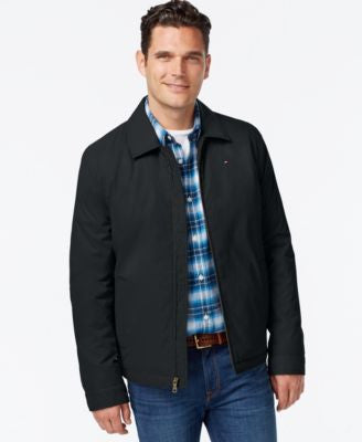 Tommy Hilfiger Full-Zip Micro-Twill Jacket