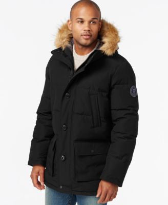 Tommy Hilfiger Big & Tall Long Snorkel Coat