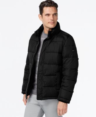 Calvin Klein Big & Tall Men's Puffer Coat