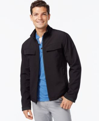 INC International Concepts Soft Shell Zip-Front Jacket