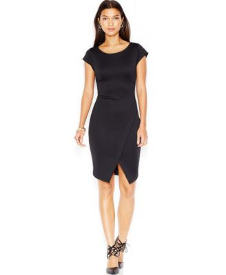 Bar III Envelope Scuba Dress