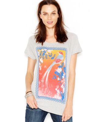 Lucky Brand Graphic Raglan Tee