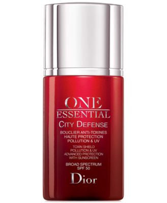 Dior One Essential City Defense Toxin Shield Pollution & UV Advanced Protection with Sunscreen