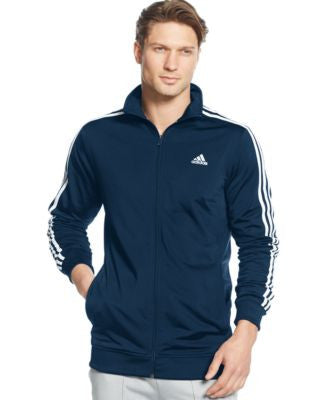 adidas Men's Tricot Full-Zip Track Jacket