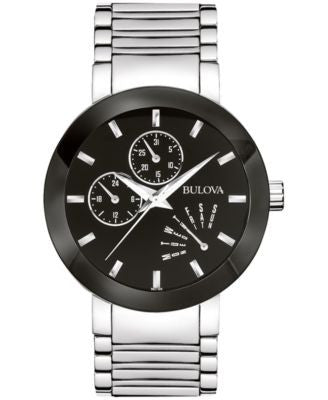 Bulova Men's Stainless Steel Strap Watch 40mm 96C105