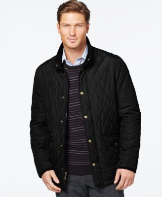 London Fog Diamond Quilted Coat