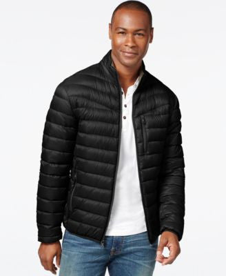 INC International Concepts Solid Down Packable Jacket, Only at Vogily