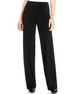 Alfani Petite Wide-Leg Knit Pants, Only at Vogily