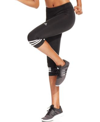 adidas Response ClimaLite® Three-Quarter Leggings