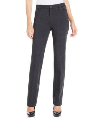 NYDJ Marilyn Straight-Leg Ponte Pants
