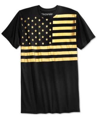 Ring of Fire Men's American Gold T-Shirt