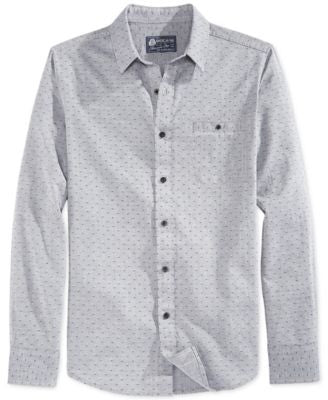 American Rag Men's Printed Shirt