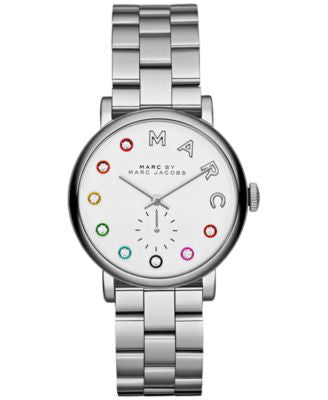 Marc by Marc Jacobs Women's Baker Dexter Stainless Steel Bracelet Watch 36mm MBM3420
