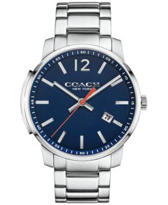 COACH MEN'S BLEECKER STAINLESS STEEL BRACELET WATCH 42MM 14602001