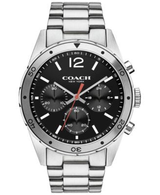 COACH MEN'S CHRONOGRAPH SULLIVAN SPORT STAINLESS STEEL BRACELET WATCH 44MM 14602034, Vogily EXCLUSIV