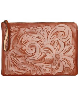Patricia Nash Tooled Braga Laptop Case