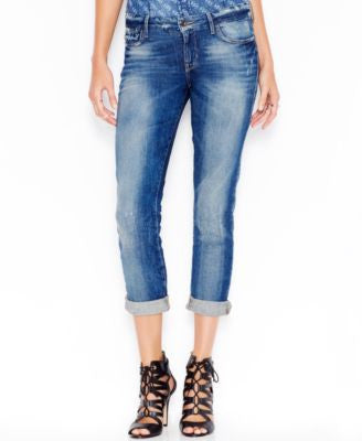 GUESS Mid-Rise Bliss Wash Pencil Skinny Jeans