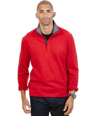 Nautica Quarter-Zip Front Fleece