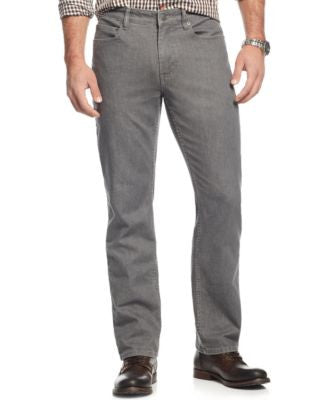Alfani Avery Straight-Leg Jeans, Gray Wash, Only at Vogily